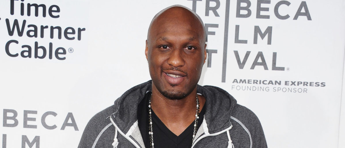 NEW YORK, NY - APRIL 20: NBA player Lamar Odom attends the Tribeca/ESPN Sports Film Festival Gala for Benji during the 2012 Tribeca Film Festival at the Borough of Manhattan Community College on April 20, 2012 in New York City. (Photo by Michael Loccisano/Getty Images)