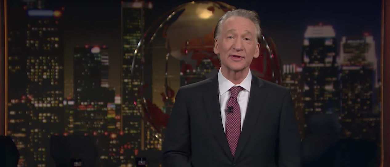 Maher HBO (Real Time with Bill Maher : Youtube screenshot)