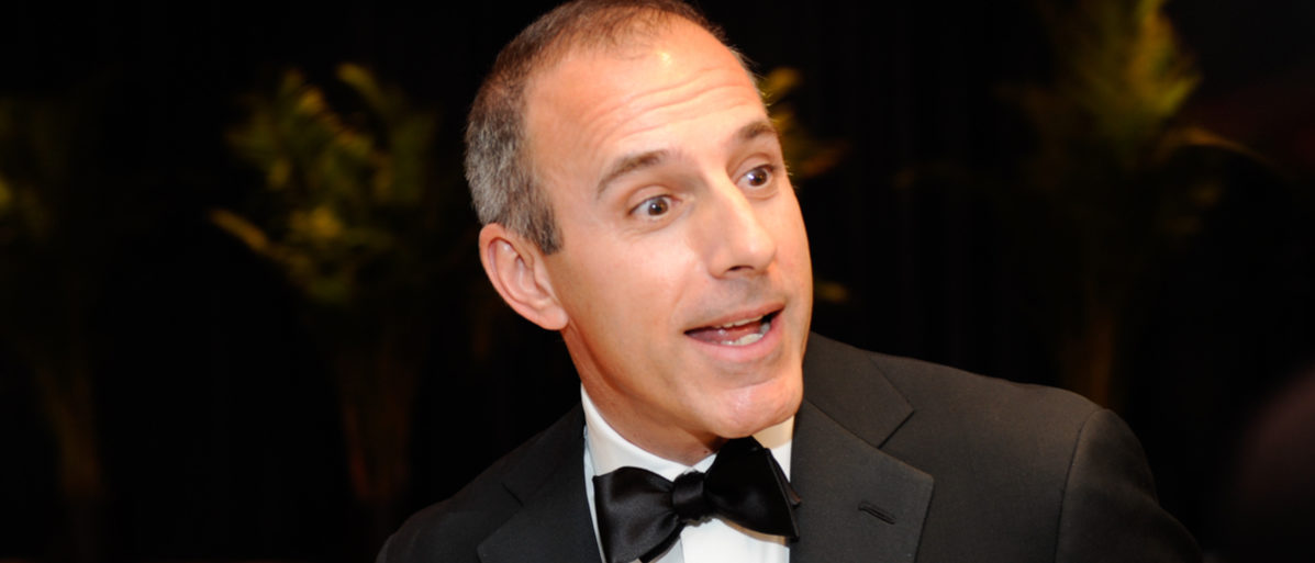 WASHINGTON MAY 1 - Matt Lauer arrives at the White House Correspondents Association Dinner May 1, 2010 in Washington, D.C. Shutterstock/ Rena Schlid