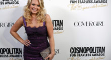 Country singer Miranda Lambert arrives at the Cosmopolitan Fun Fearless Awards in New York March 5, 2012. REUTERS/Allison Joyce (UNITED STATES - Tags: ENTERTAINMENT) - GM1E8360SK701