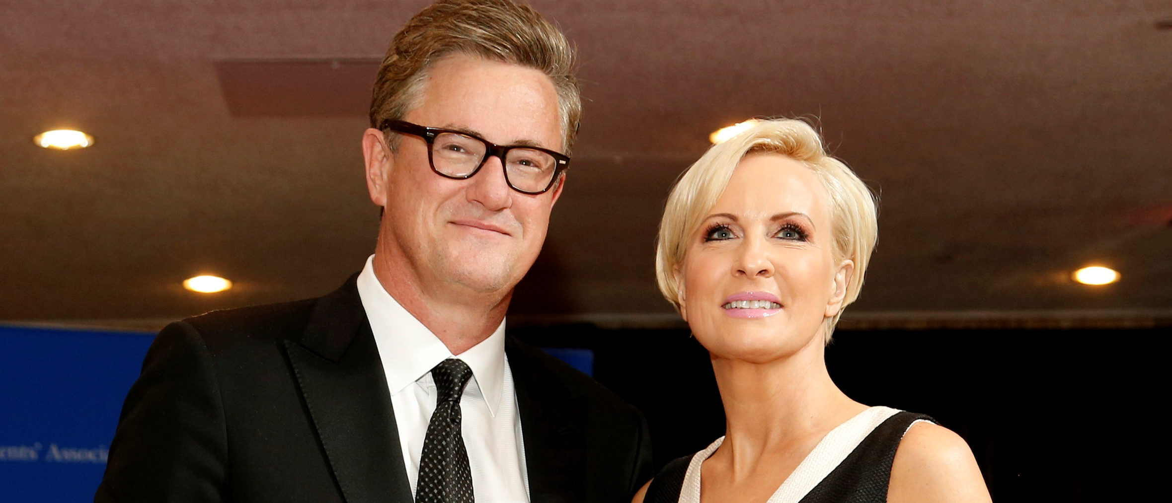 FILE PHOTO: MSNBC's Joe Scarborough and Mika Brzezinski arrive for the annual White House Correspondents' Association dinner in Washington, U.S. on April 25, 2015. REUTERS/Jonathan Ernst