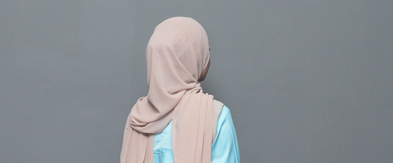 Muslim woman wears a hijab. (Shutterstock/Apiq Sulaiman)