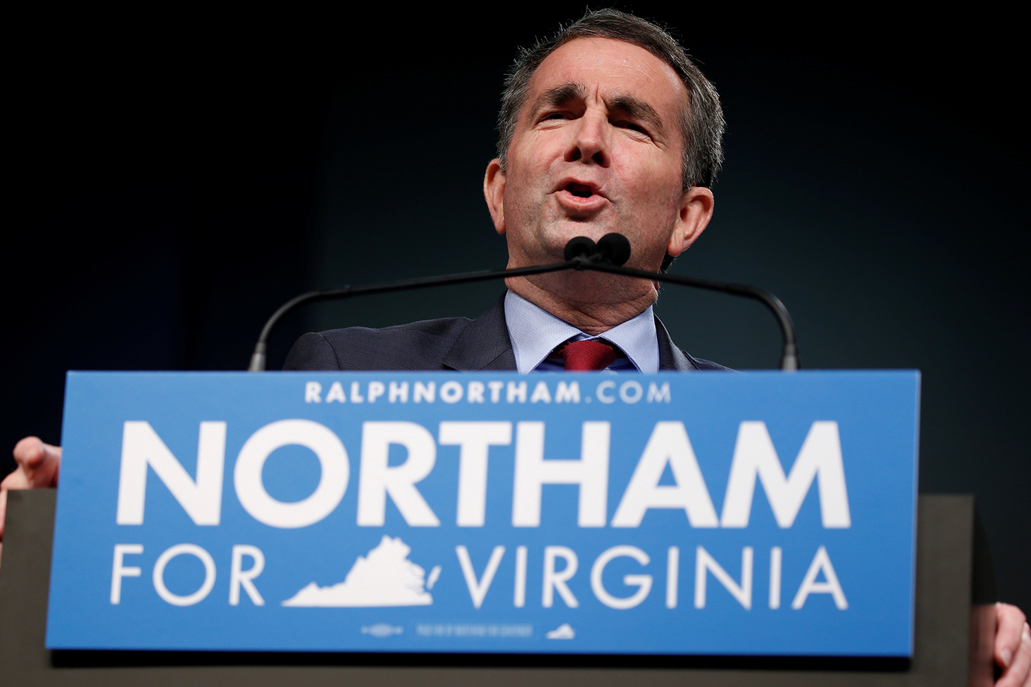Northam yearbook photo shows men in blackface, KKK robe