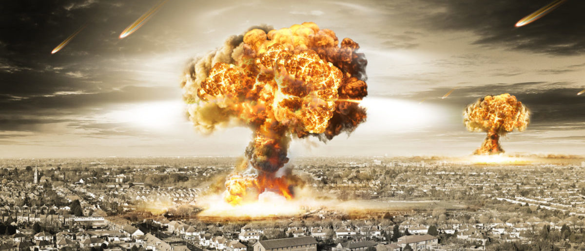 Nuclear explosion (Credit: Shutterstock)