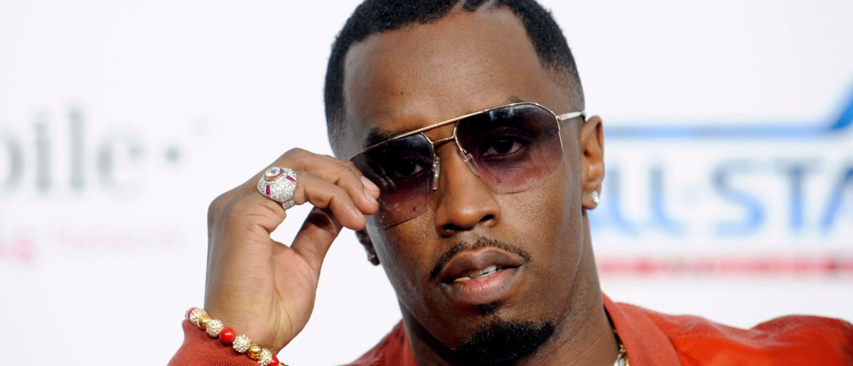 Musician P.Diddy arrives at the T-Mobile Magenta Carpet pre NBA All-Star Game event in Los Angeles on February 20, 2011. REUTERS/Phil McCarten