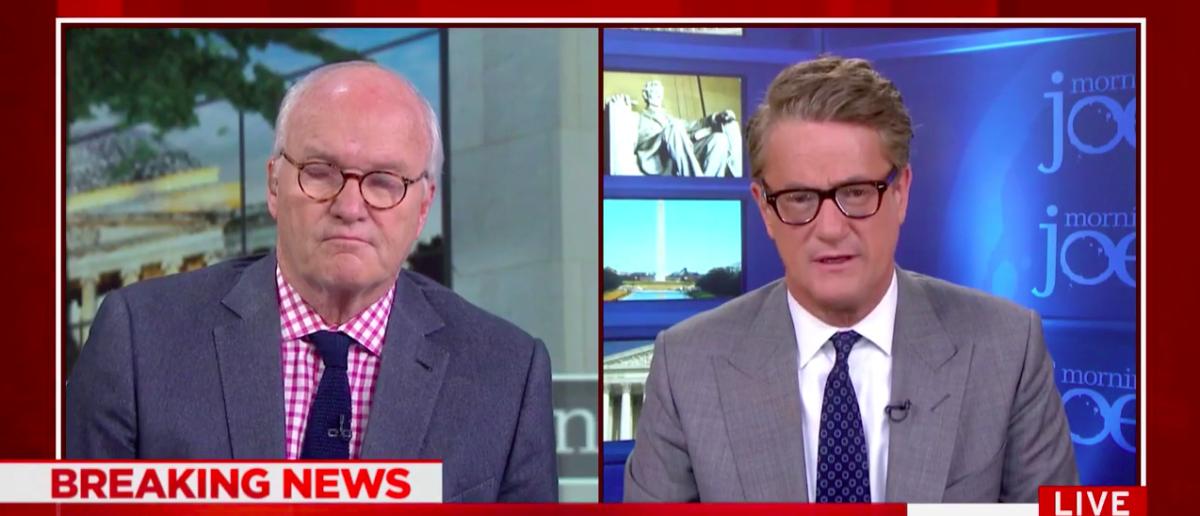 Screen Shot Joe Scarborough and Mike Barnicle (MSNBC: Nov 1, 2017)