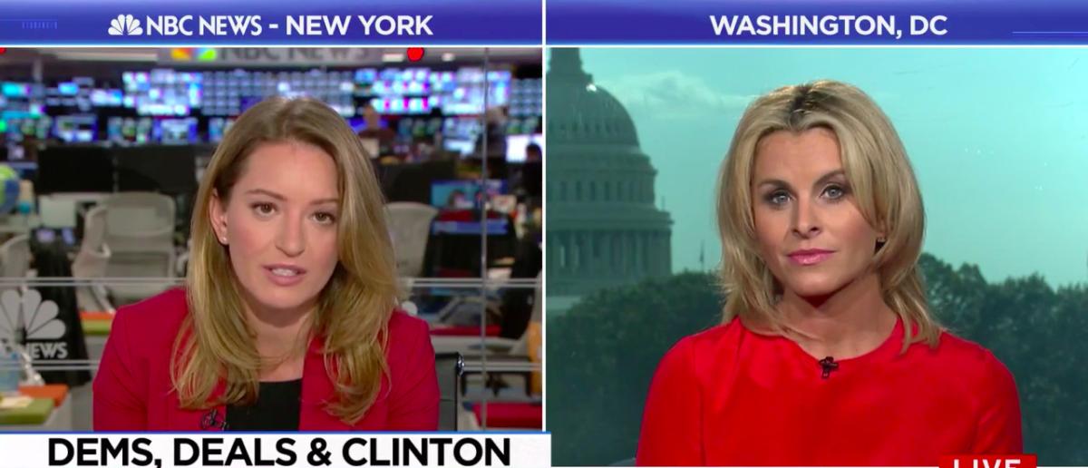 Screen Shot Adrienne Elrod (MSNBC: Nov 3, 2017)