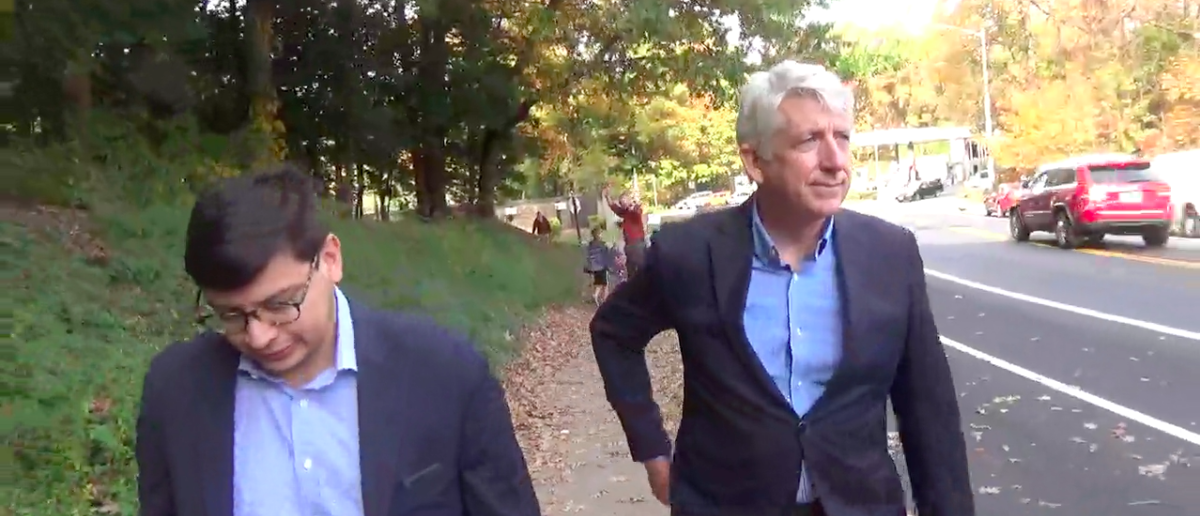 Screen Shot Mark Herring (America Rising: Nov 4, 2017)