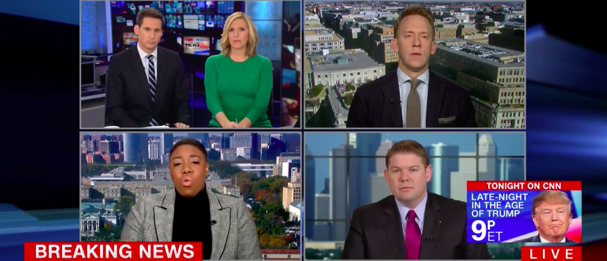 Screen Shot Symone Sanders (CNN: Nov 20, 2017)