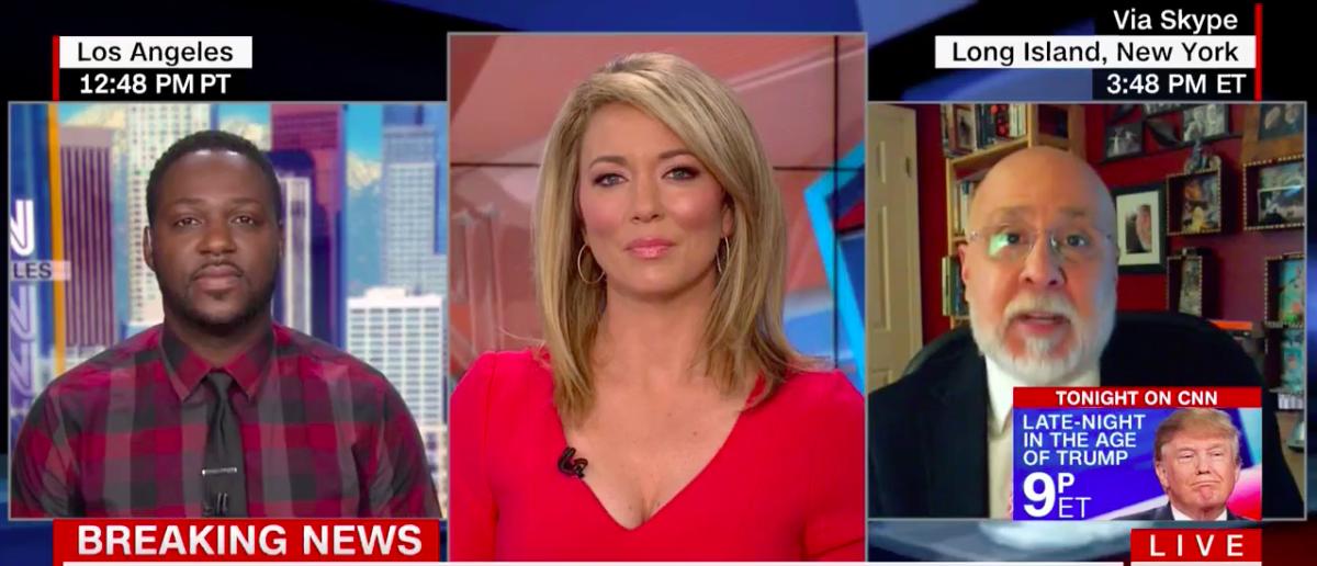 Screen Shot Michael D'Antonio (CNN: Nov 20, 2017)
