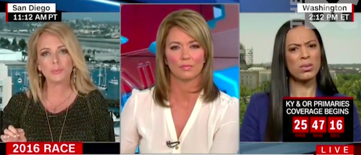 Screen Shot Brooke Baldwin Plays Defense For Bill Clinton (CNN)