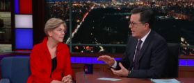 Elizabeth Warren Won't Tell Franken To Resign [VIDEO]