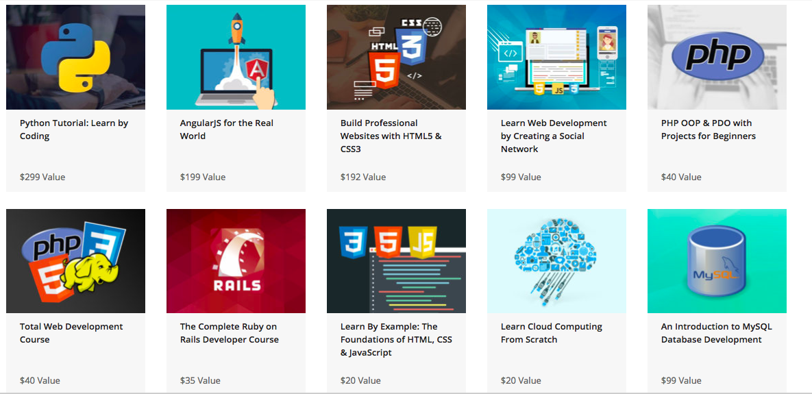A $1,043 value, this coding bundle is on sale for just $6.25 with this early Black Friday code