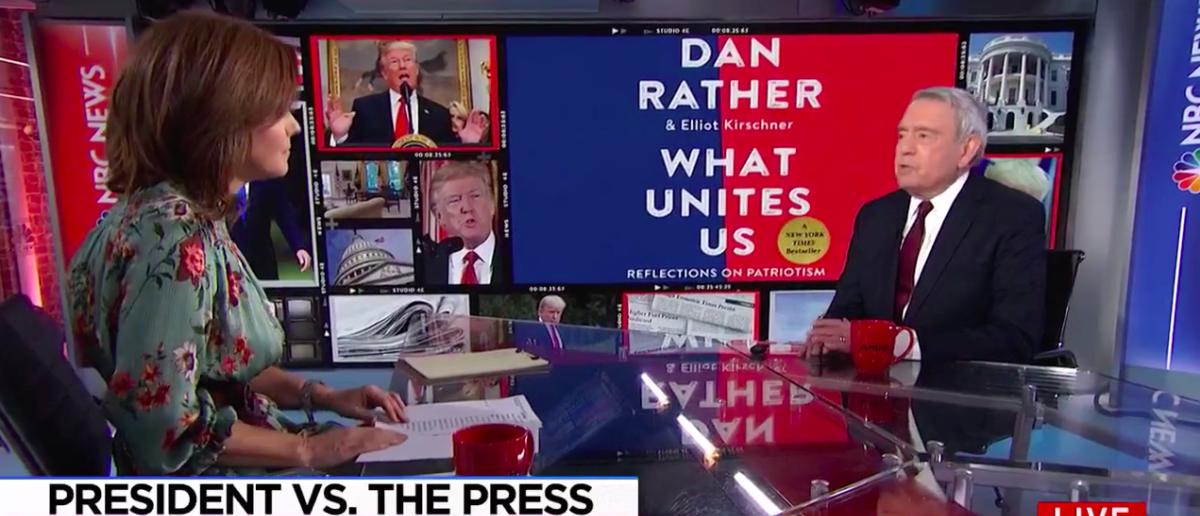 Screen Shot Dan Rather (MSNBC: Nov 27, 2017)
