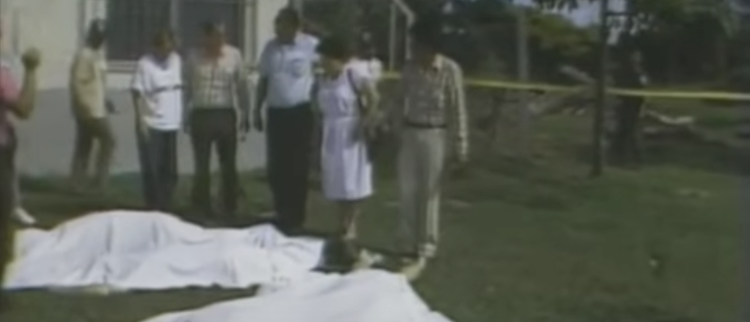 Six Jesuits and two domestics were murdered by the Salvadoran government in 1989. (YouTube screenshot/John Odean)