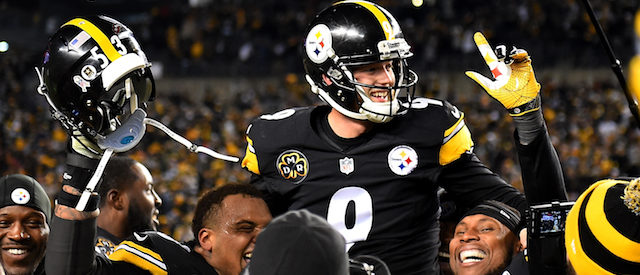 Steelers vs Packers, Chris Boswell