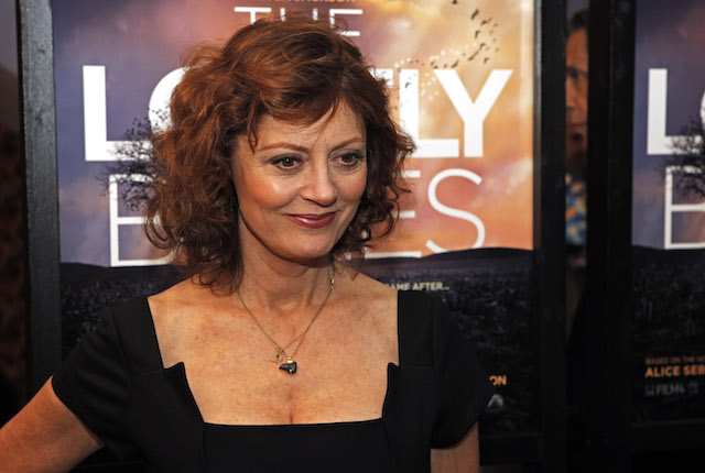 Susan Sarandon Says 'We'd Be at War' if Hillary Clinton Was President