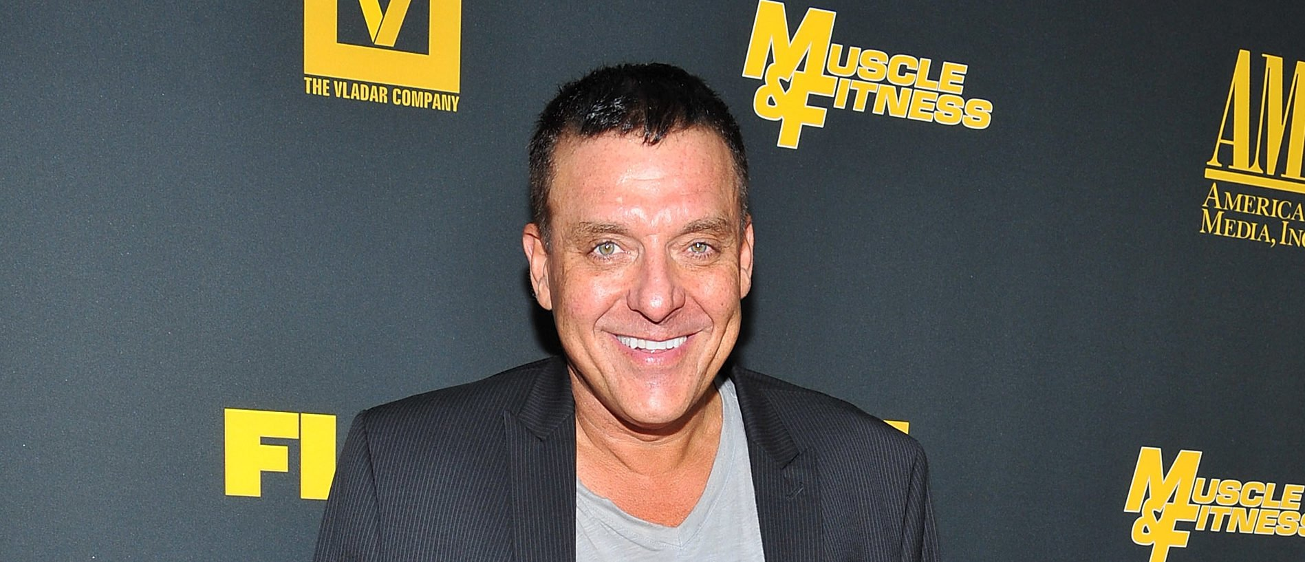 HOLLYWOOD, CA - SEPTEMBER 18:  Actor Tom Sizemore arrives at the Los Angeles premiere of 'GENERATION IRON'  at Chinese 6 Theater Hollywood on September 18, 2013 in Hollywood, California.  (Photo by Angela Weiss/Getty Images)