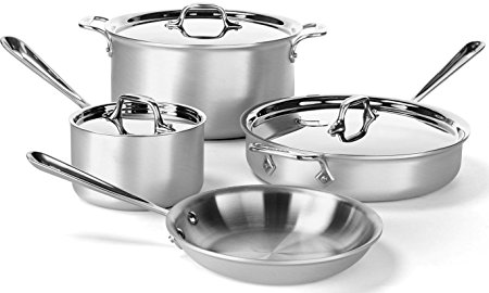 Normally $559, this 7-piece cookware set is 60 percent off for Cyber Monday (Photo via Amazon)