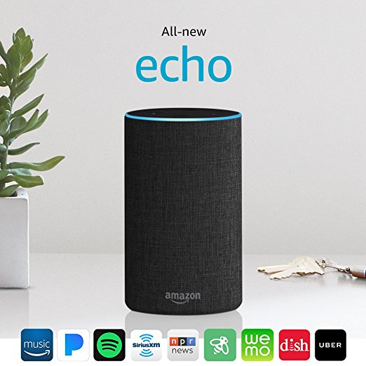 Normally $100, the all-new Echo is 20 percent off for Black Friday (Photo via Amazon)