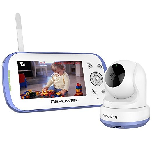 Normally $140, this video baby monitoring system is 22 percent off with this code (Photo via Amazon)