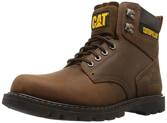 Normally $105, these work boots are 50 percent off today. They are available in dark brown, black and honey (Photo via Amazon)