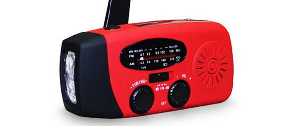 Normally $90, this emergency radio/flashlight is 78 percent off today (Photo via Amazon)