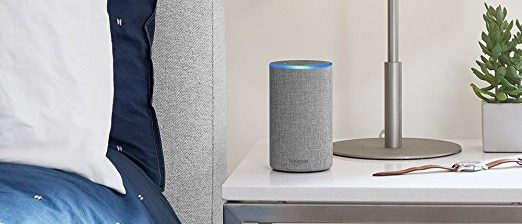 The all-new Echo fits in with any decor (Photo via Amazon)
