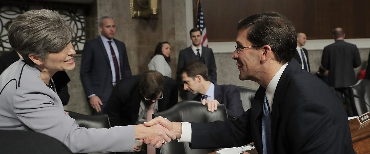 Senate Holds Confirmation Hearing For Mike Esper To Be Secretary Of The Army