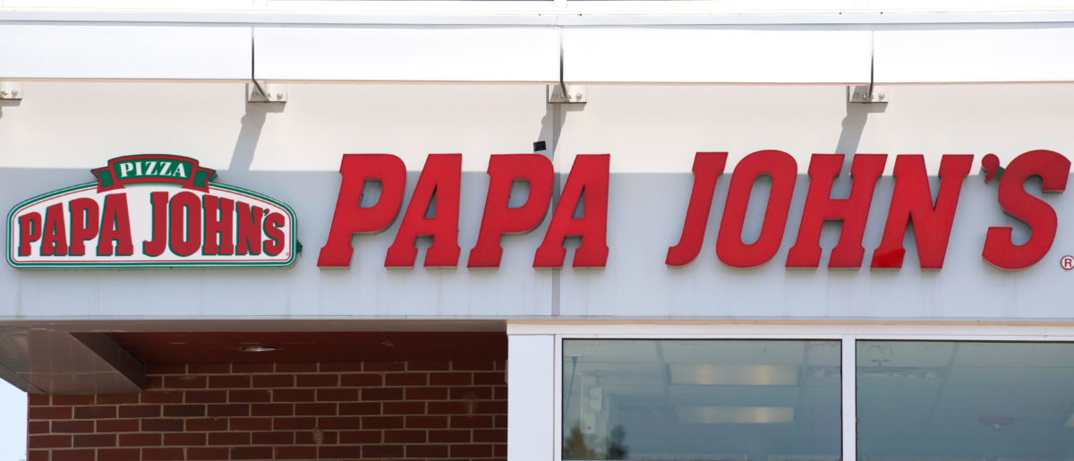 The Papa John's store in Westminster, Colorado, U.S. August 1, 2017.  REUTERS/Rick Wilking
