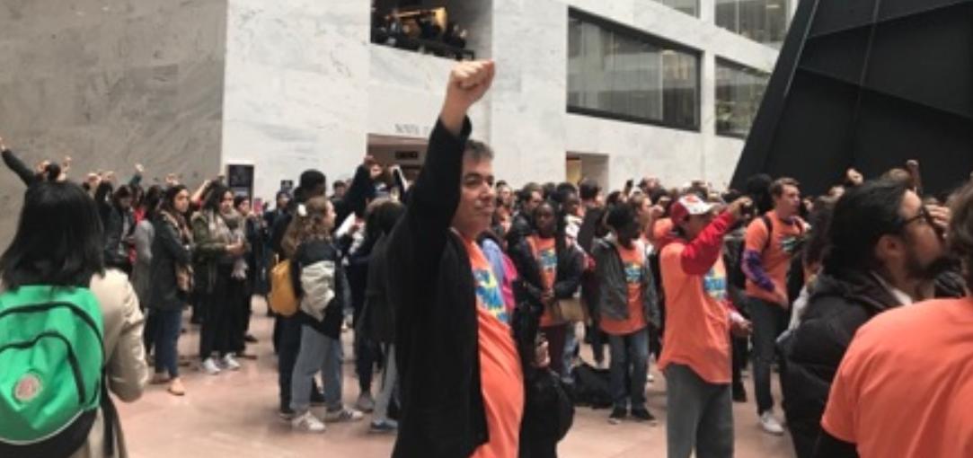 jack crowe DCNF/ DACA protestors