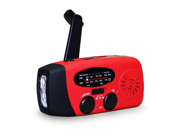 Normally $90, this radio/flashlight is 83 percent off with code BFRIDAY20