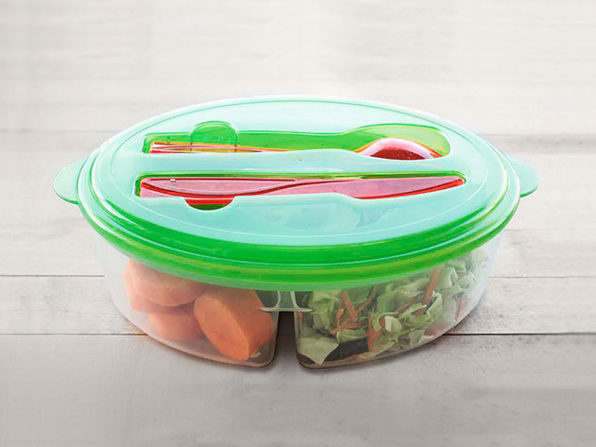 Normally $25, this salad container is 62 percent off with code BFRIDAY20