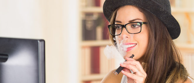 Vaping teacher (Photo via Shutterstock)