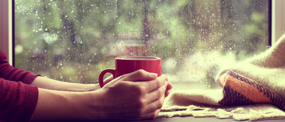 Rainy day (Photo via Shutterstock)
