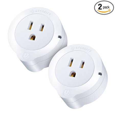Normally $70, this 2-pack of smart plugs is 63 percent off today (Photo via Amazon)