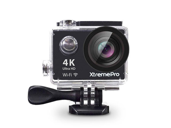 Normally $150, this action camera is 63 percent off with code BFRIDAY20