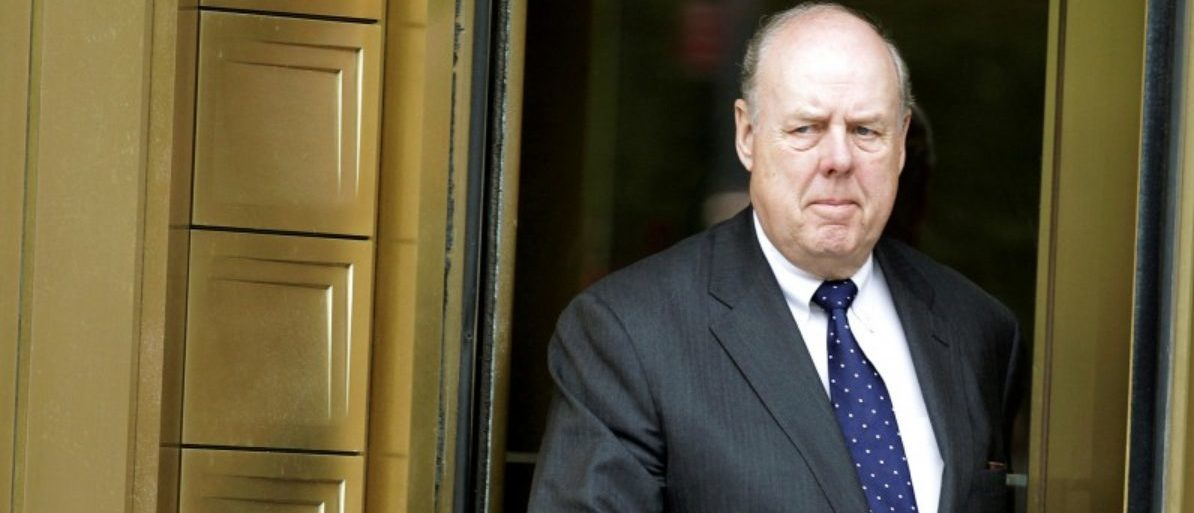 FILE PHOTO: Lawyer John Dowd exits Manhattan Federal Court in New York, U.S. on May 11, 2011. REUTERS/Brendan McDermid/File Photo