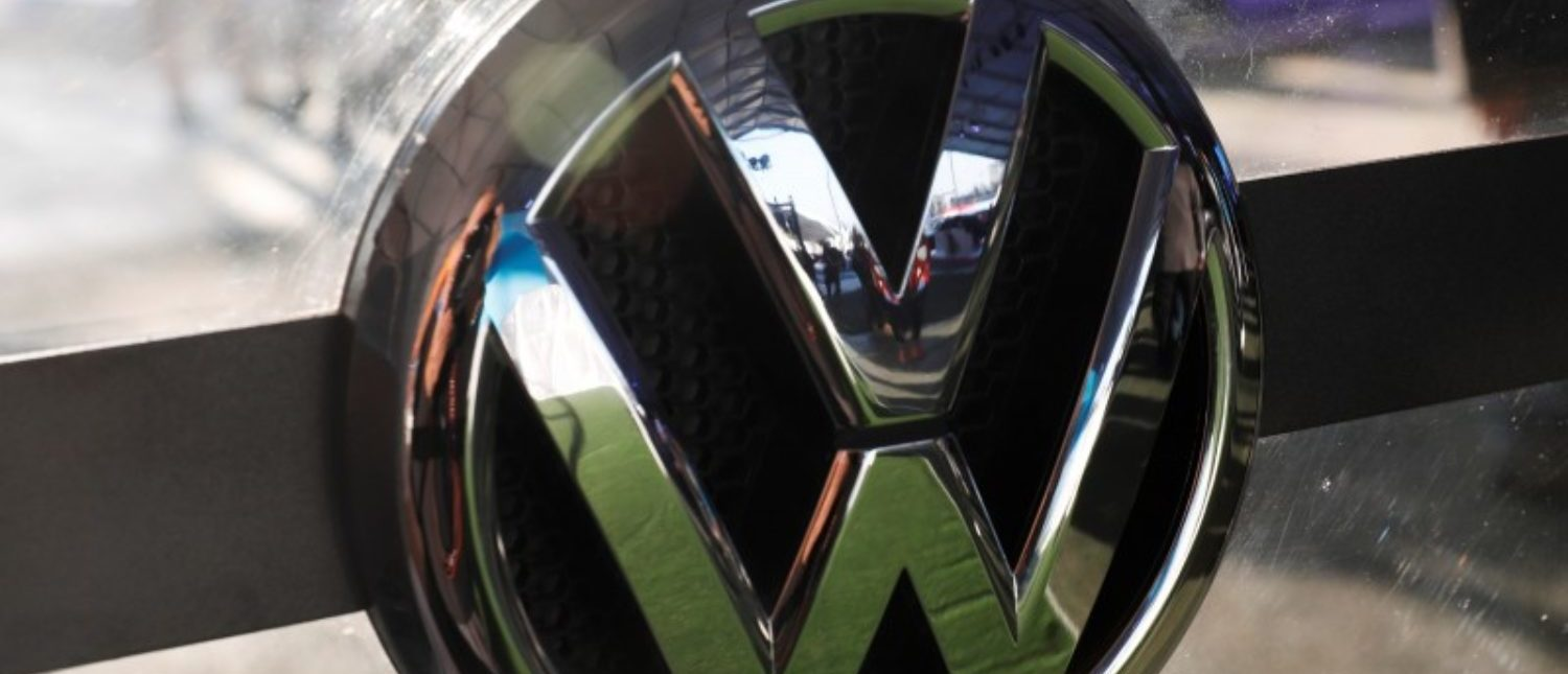 FILE PHOTO: A Volkswagen logo is pictured at the International Auto Show in Mexico City, Mexico November 23, 2017. (Photo: REUTERS/Henry Romero)