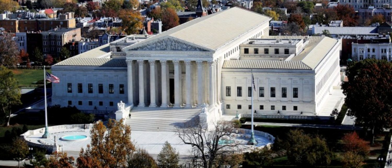 FILE PHOTO: The U.S. Supreme Court building in Washington, DC, U.S. on November 15, 2016. REUTERS/Carlos Barria/File Photo