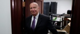 Rep. Kevin Brady (R-CA) departs after a closed conference meeting on Capitol Hill in Washington, U.S., December 5, 2017. REUTERS/Aaron P. Bernstein