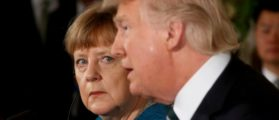 Germany's Chancellor Angela Merkel and U.S. President Donald Trump hold a joint news conference in the East Room of the White House in Washington, U.S., March 17, 2017. (Photo: REUTERS/Jonathan Ernst/File Photo)