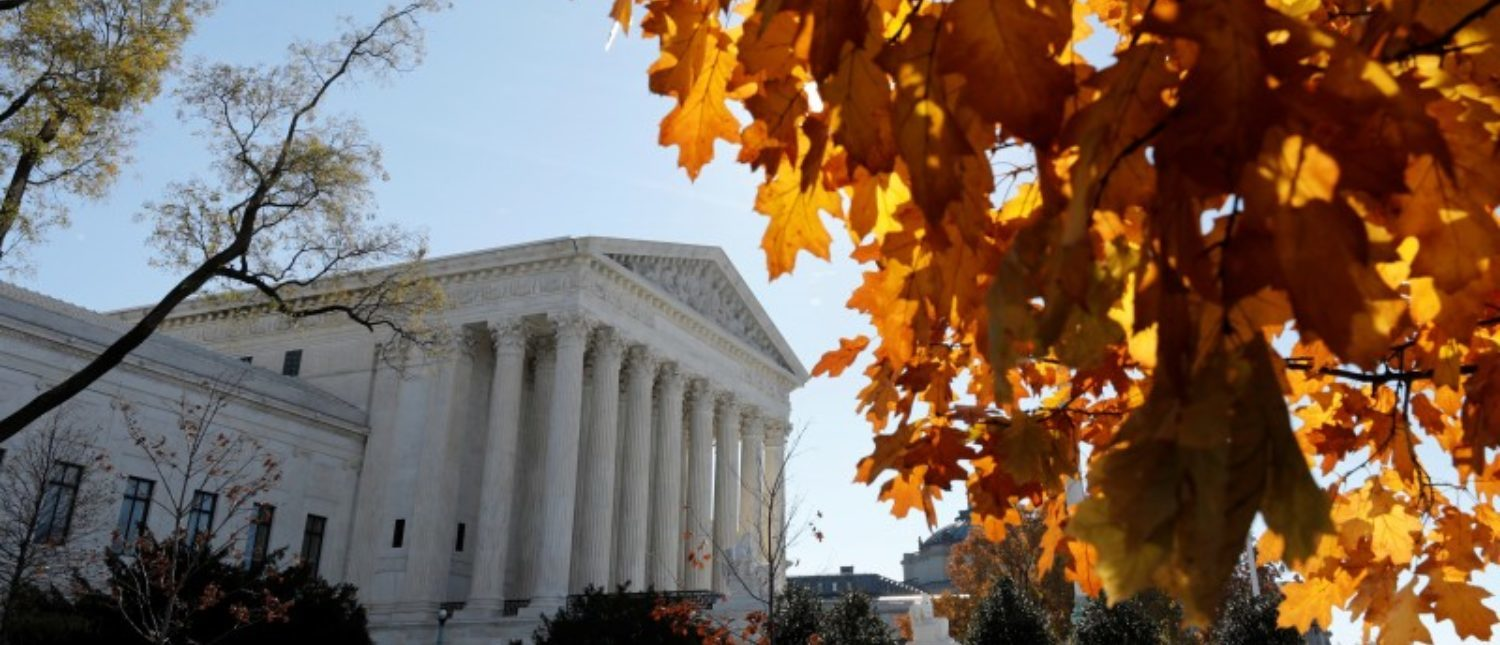 FILE PHOTO: U.S. Supreme Court is seen in Washington, U.S., November 27, 2017. REUTERS/Yuri Gripas