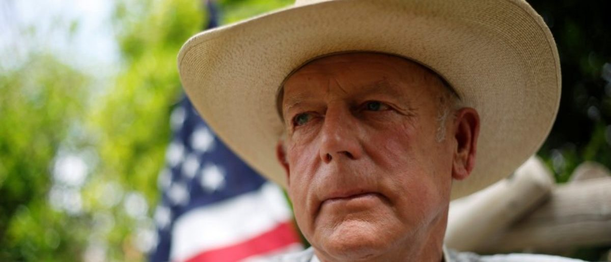 FILE PHOTO: Rancher Cliven Bundy poses at his home in Bunkerville, Nevada, U.S., April 11, 2014.  REUTERS/Jim Urquhart/File Photo