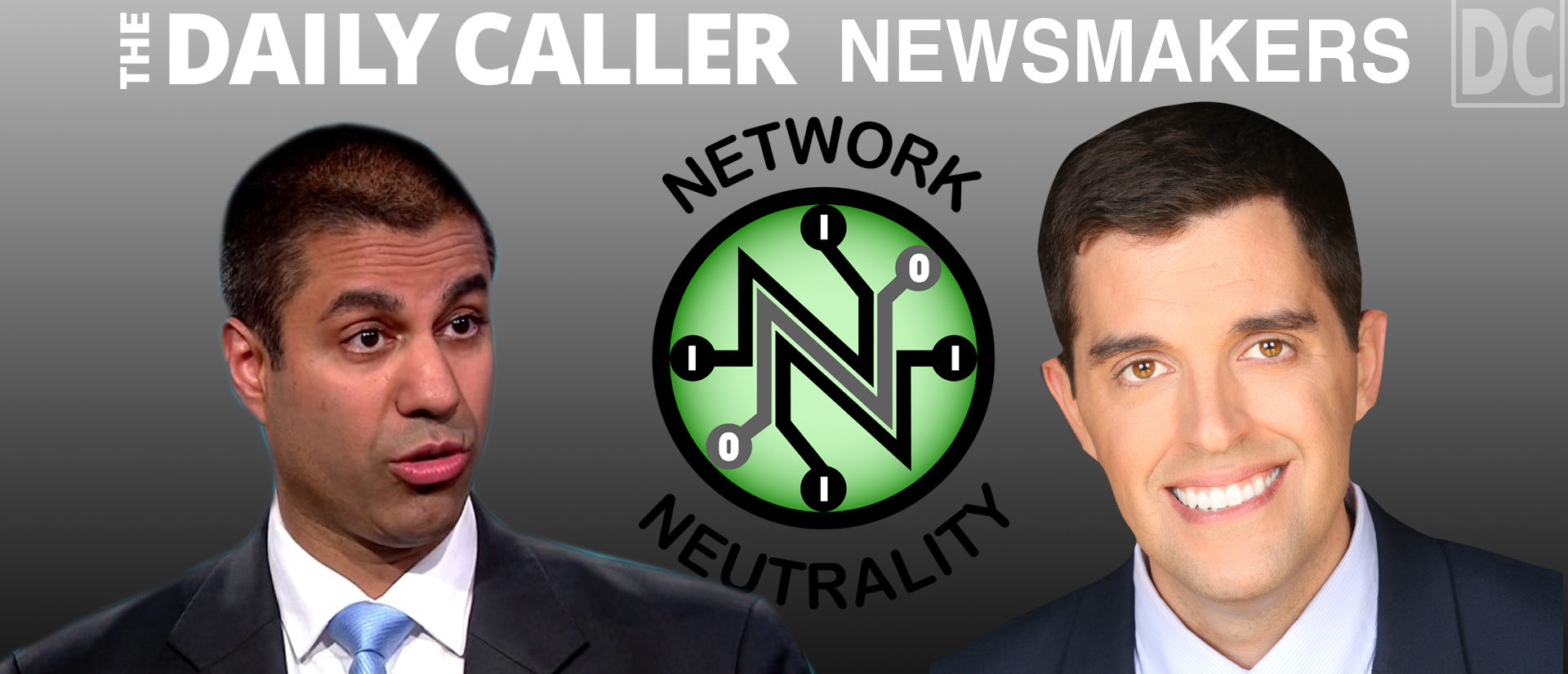 Ajit Pai, Vince Coglianese (The Daily Caller)