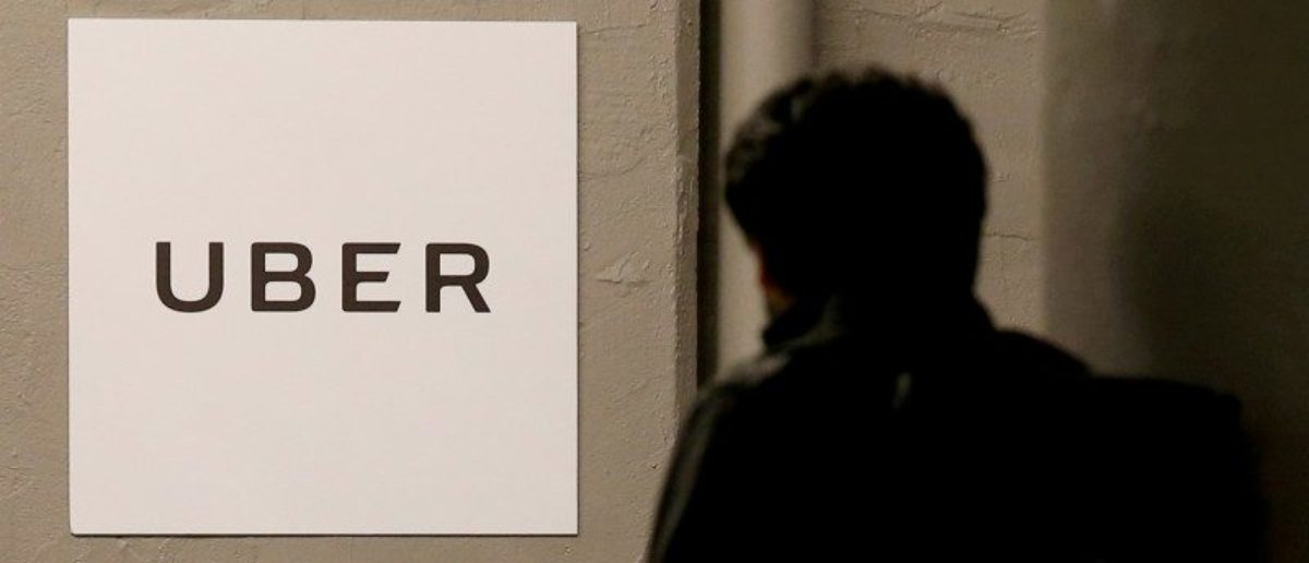 A man arrives at the Uber offices in Queens, New York, U.S. on February 2, 2017. REUTERS/Brendan McDermid/File Photo