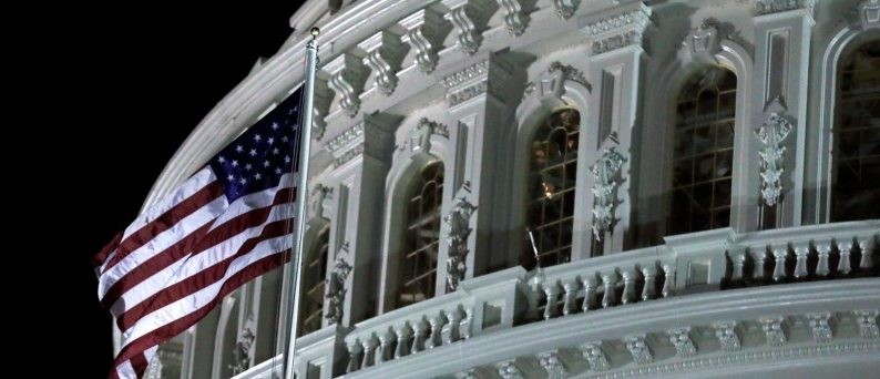 U.S. Capitol is seen in Washington, December 6, 2017. REUTERS/Yuri Gripas
