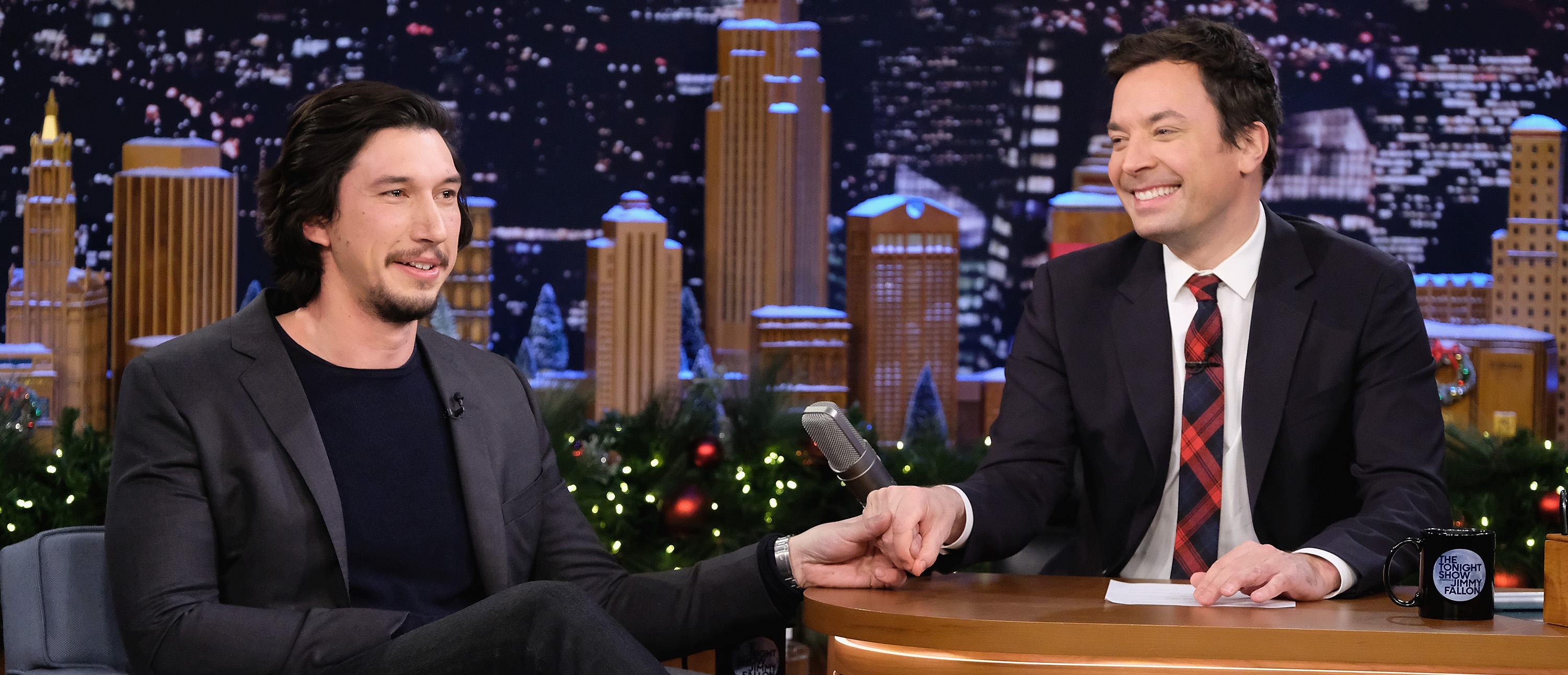 """Adam Driver Visits """"The Tonight Show Starring Jimmy Fallon""""(Photo: Theo Wargo/Getty Images for NBC)"""