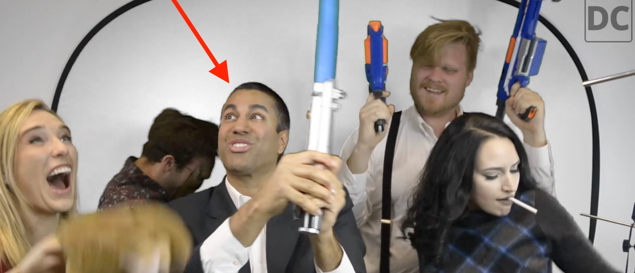 Ajit Pai Harlem Shake (Photo: Screenshot/The Daily Caller)