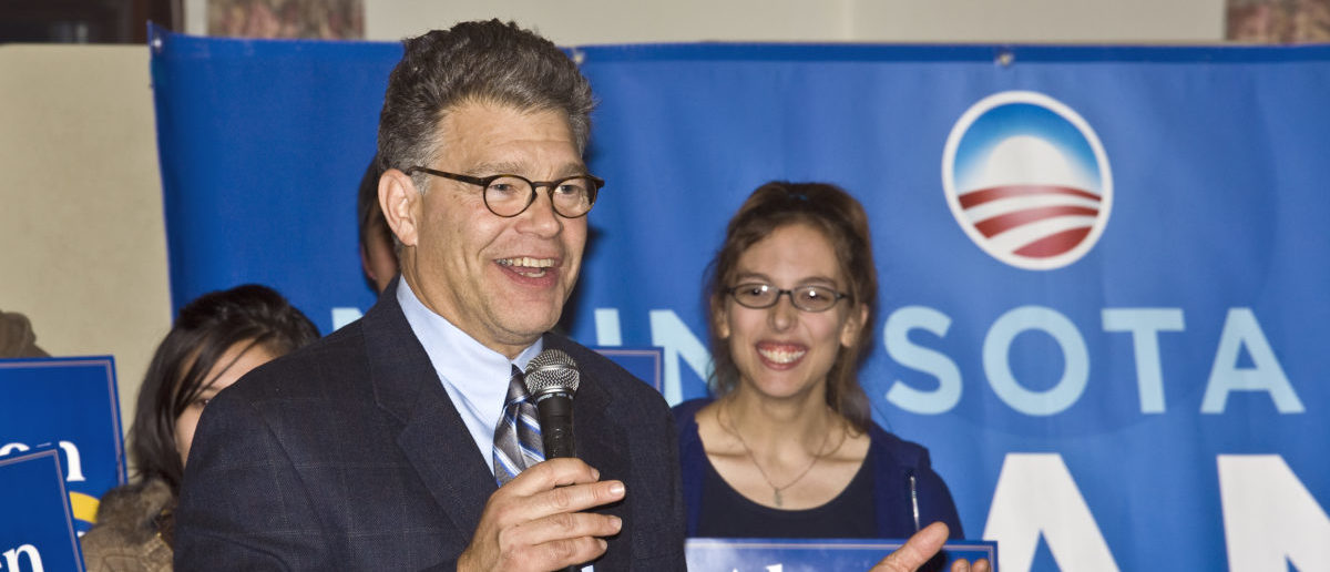 Al Franken running for senate 2008 with support from Obama (ShutterStock/Al Mueller)